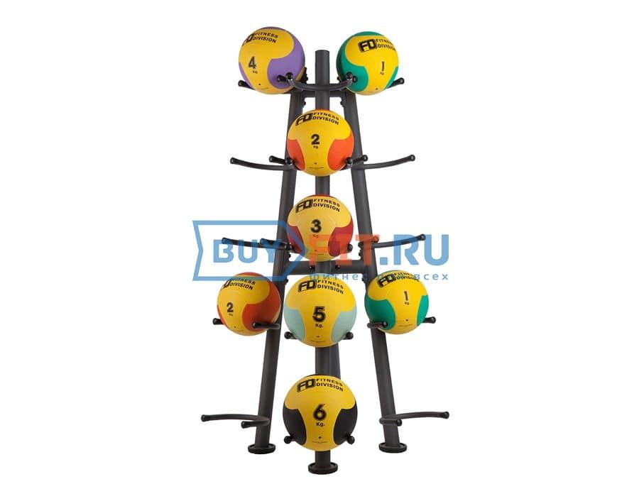Стойка для медицинских мячей Fitness Division FD-RK-849MB15
